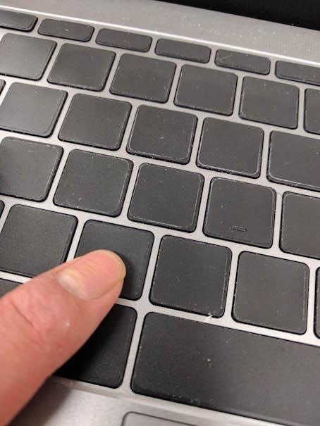 Macbook キーボード