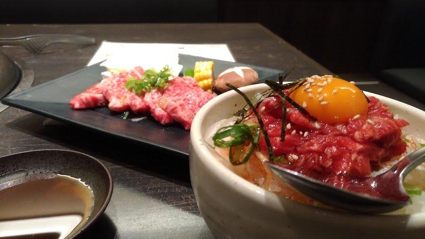 ZenFone3 焼き肉