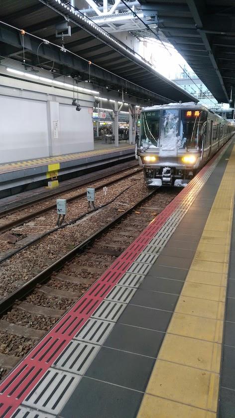 ZenFone3 電車