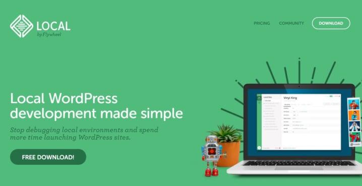 WordPress のローカル環境を簡単に構築できる、Local