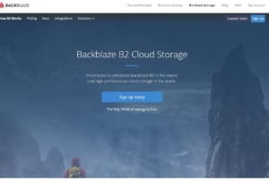 BackBlaze B2 Cloud Storage