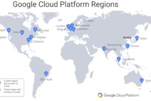 Google Cloud Platform 大阪リージョン