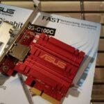ASUS の格安10G NIC、XG-C100Cを買ってみた