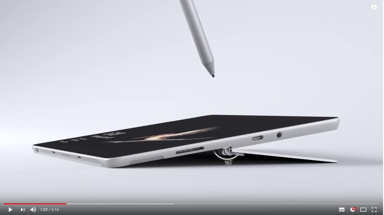 8GBモデルはサムスンのNVMe SSDを搭載か、廉価版Surface「Surface Go」
